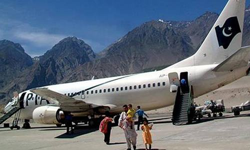 Gilgit-Baltistan Weather condition for flight