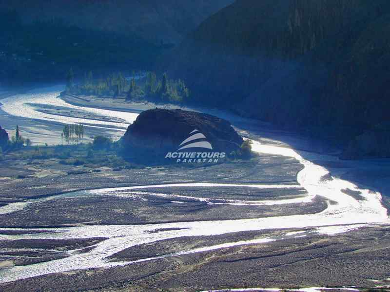 white water rafting on River Indus and Gilgit