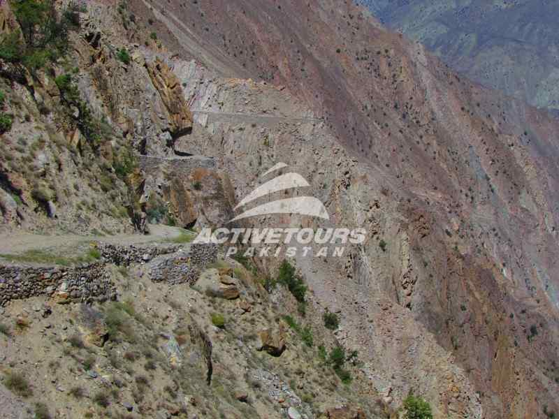 jeep road to Fairy Meadows