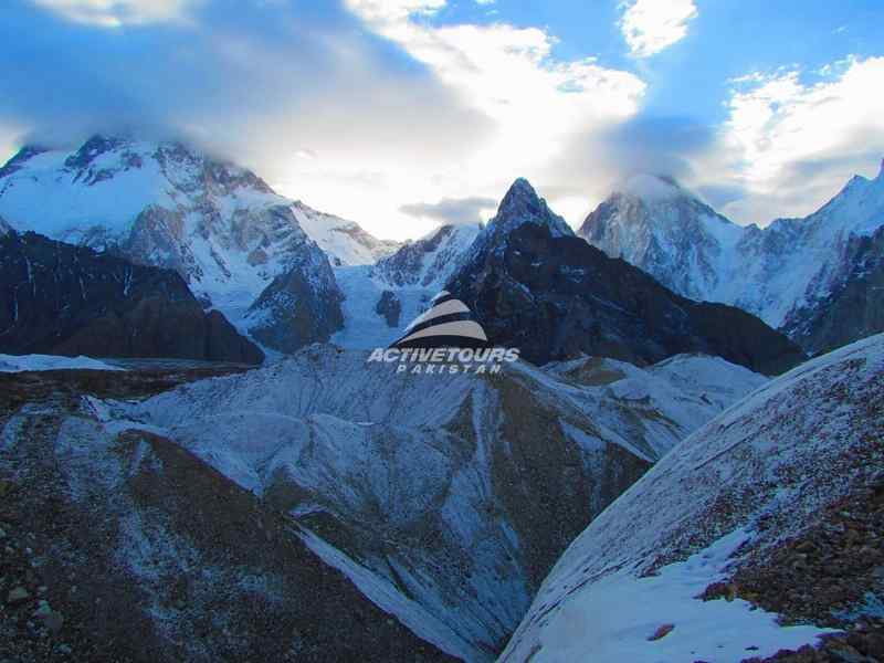 Famous Baltoro Glacier trek towards k2 base camp