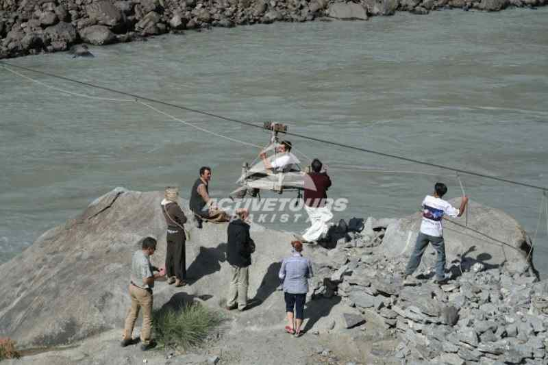 River Indus on the way to Skardu