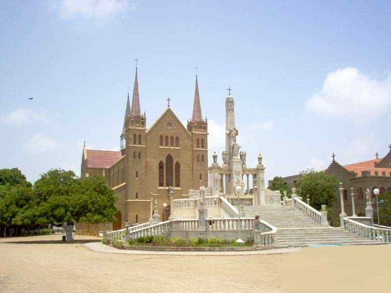Tour of Churches in Karachi, Pakistan