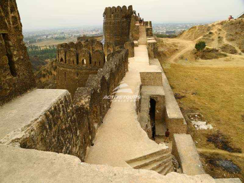 Rohtas Fort Tour, visit Rohatas Fort, history of Rohtas Fort,