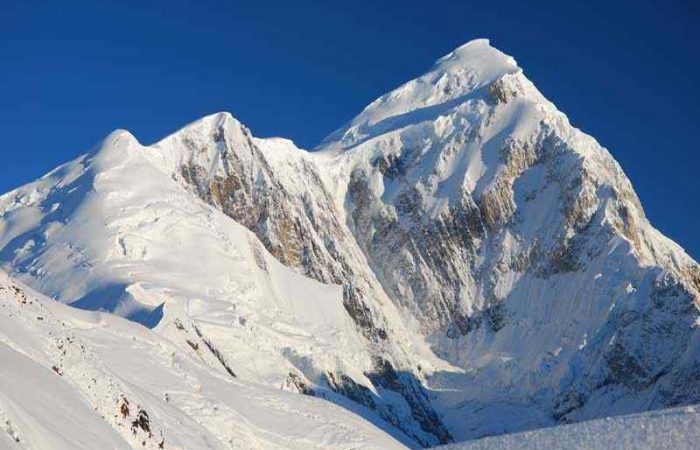 Spantik Base camp trekking in karakorum mountains