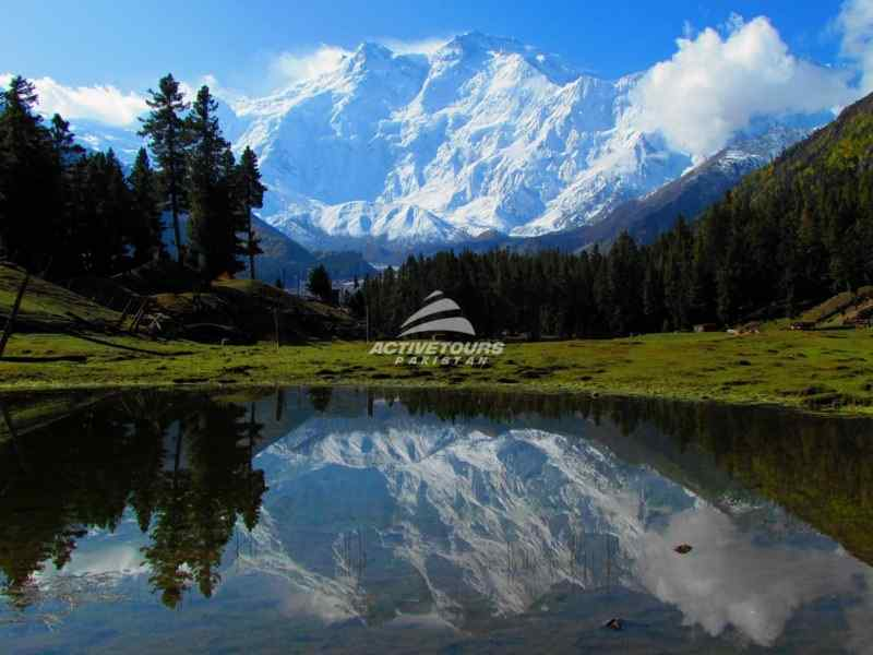 visiting fairy meadows Northern Pakistan