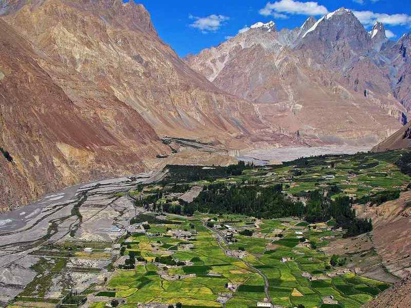 Village of Shimshal,