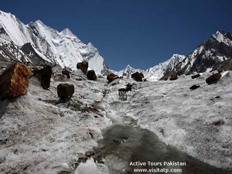 glaciers in North Pakistan