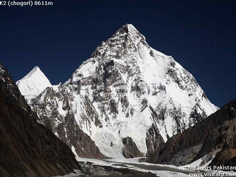 trek to k2 base camp in Pakistan