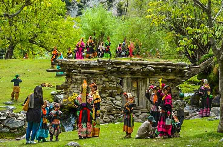 People of Kalash and their costumes