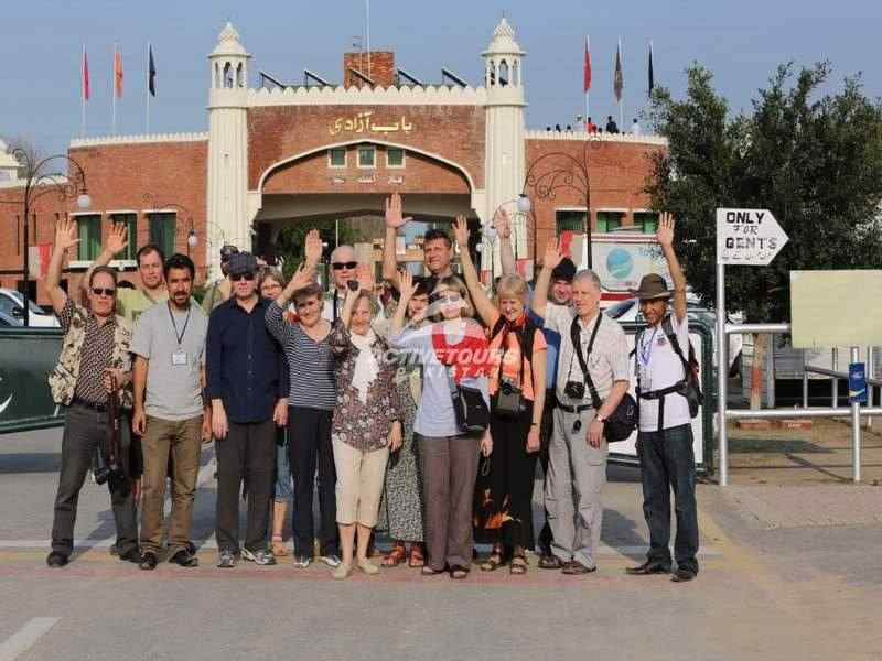 visit waga border ceremony from Lahore