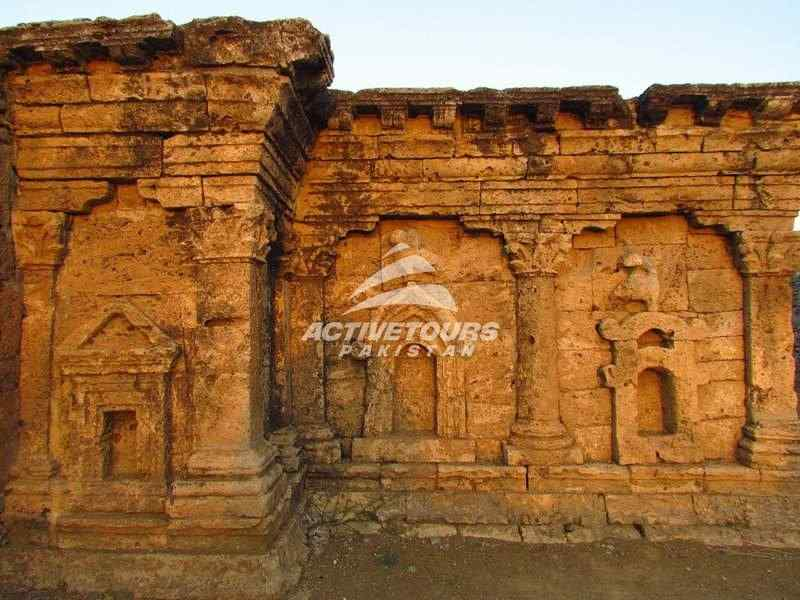 Tour of Sirkap, archaeology Taxila, Pakistan