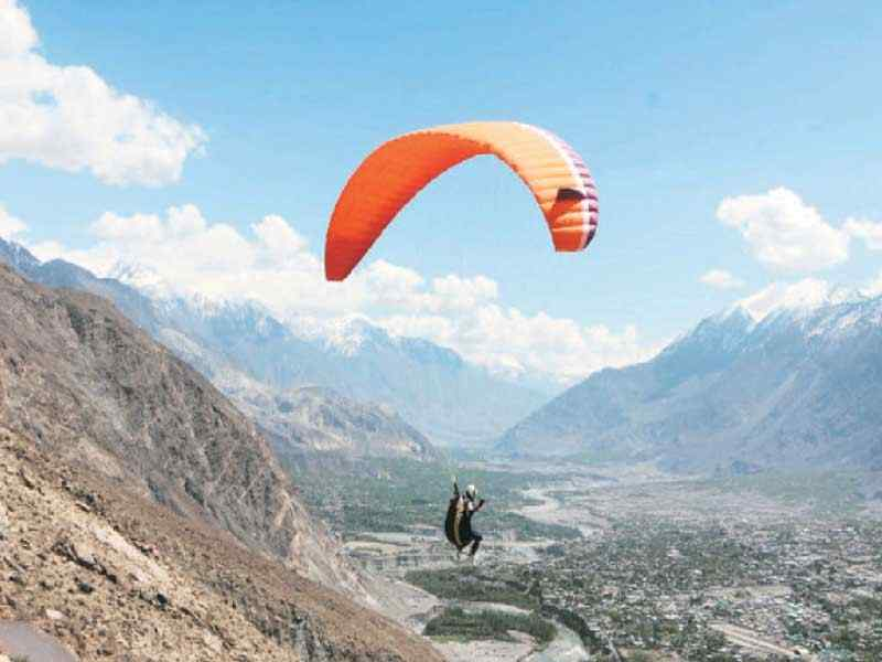 Pakistan International Paragliding Competition