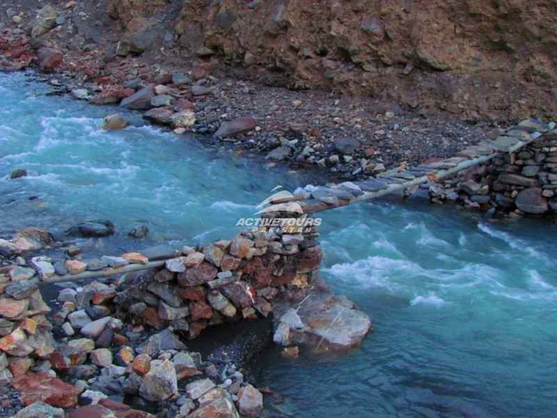 Shimshal is on the border of China and Pakistan